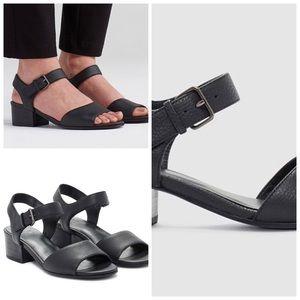 Eileen Fisher Francis Block Heel Sandal 9 1/2